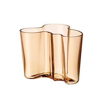 Iittala Aalto 4 34 Glass Vase Rio Brown Walmart