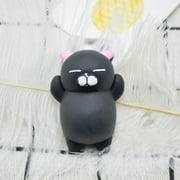 4PC Cute Mochi Squishy Cat Squeeze Healing Fun Kids Kawaii Toy Stress Reliever Decor