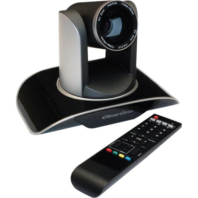 Clearone Unite 100 Video Conferencing Camera - 2.1 Megapixel - 60 Fps - Black, Silver, Gray - Usb 3.0 - 1920 X 1080 Video - Cmos Sensor - Auto/manual - Widescreen - Computer (910-2100-001)