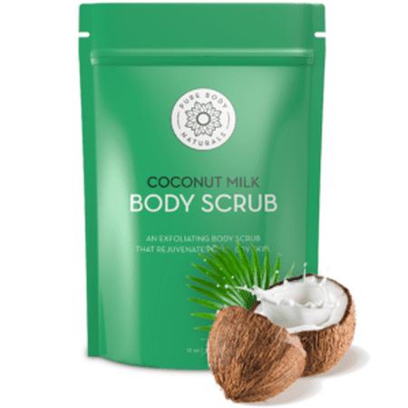 Pure Body Naturals Coconut Milk Body Scrub