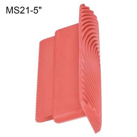 5 Inch Wood Graining Rubber Grain Tool Pattern Wall Painting Decoration DIY Red MS21 - image 1 de 6
