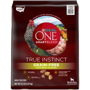 Purina ONE SmartBlend True Instinct Natural Grain-Free Formula with Real Chicken & Sweet Potato Adult Dry Dog Food (Various Sizes)