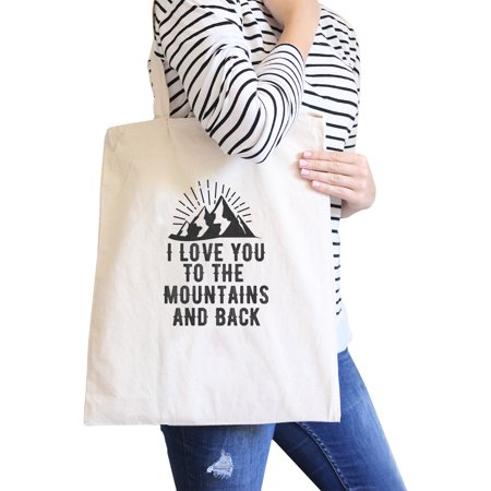 Black And White Wedding Ideas (Mountain And Back Natural Canvas Bag Gift Ideas For Mountain)