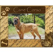 Giftworks Plus DBA0044 Cane Corso, Alder Wood Frame, 8 x 10 In