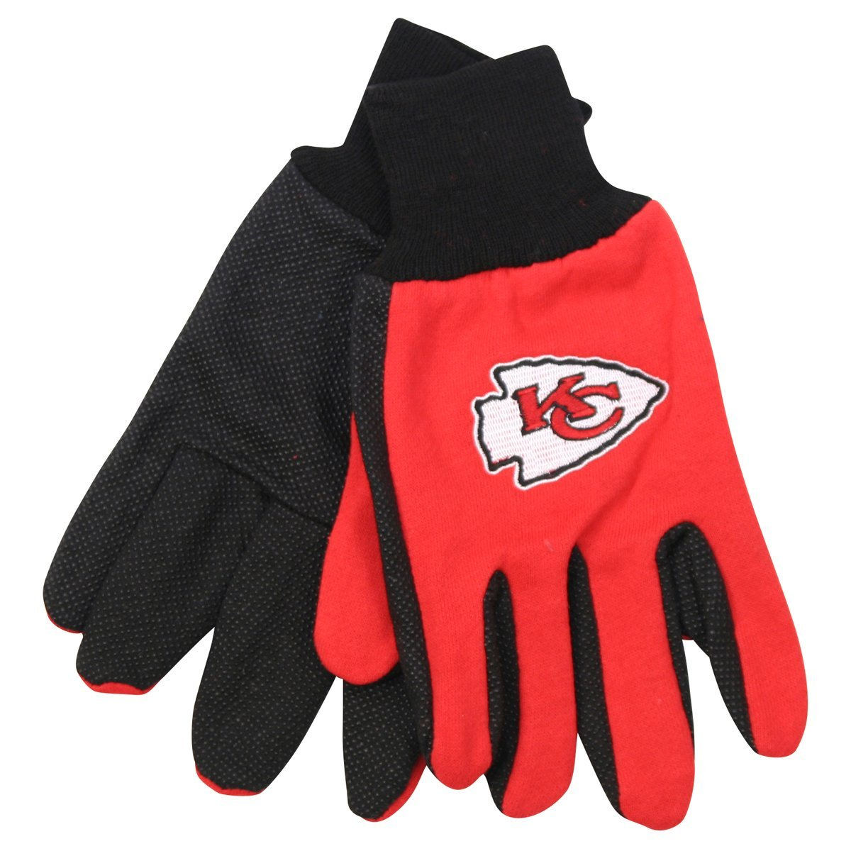 Kansas City Chiefs Two-Tone Gloves by McArthur
