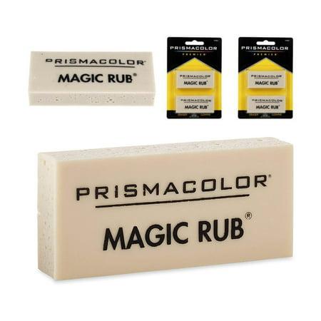 Drafting Erasers - 4 Prismacolor Magic Rub Erasers Vinyl Art Drafting Non Abrasive Lead India Ink