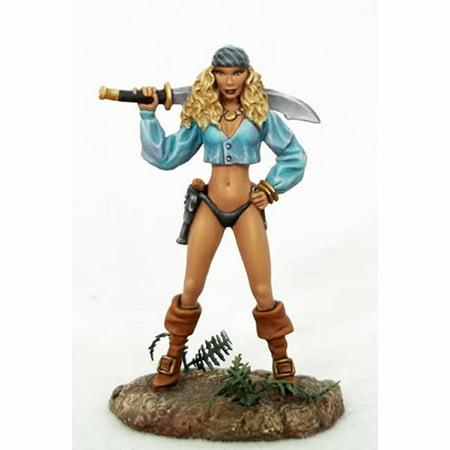 Dark Swords (Female Pirate With Sword Miniature Elmore Masterwork Dark Sword)
