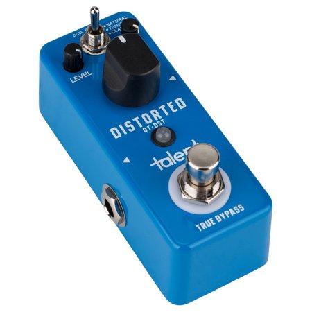 Fx Guitar - Talent GT-DST DISTORTED Distortion Guitar Mini FX Pedal Stomp Box Talent GT-DST