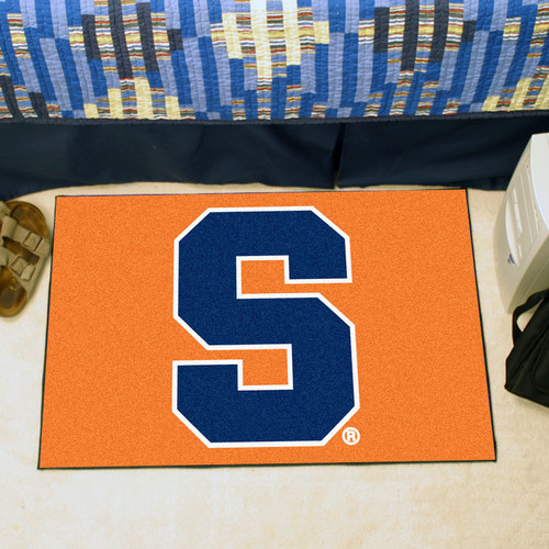 "Fanmats Syracuse University Orange Starter Rug 20""x30"""