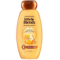 Garnier Repairing Shampoo Honey Treasures, For Damaged Hair, Whole Blends, 22 fl. oz.