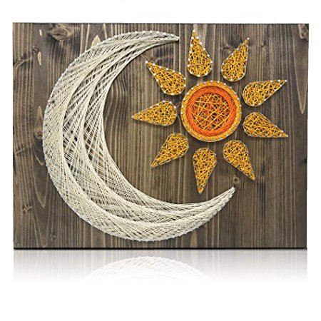 Diy String Art Kit Sun And Moon String Art Kit Sun And