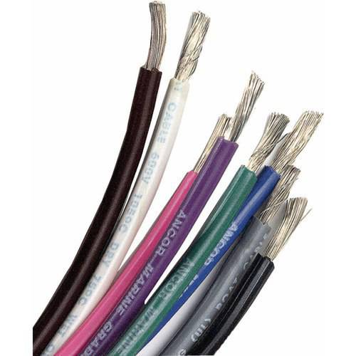 Ancor Marine Grade Tinned Copper Primary Wire, 14 ga
