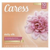 Caress Daily Silk Bar Soap 3.75 oz, 10 Bars