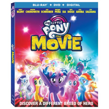 - My Little Pony: The Movie (Blu-ray + DVD + Digital)