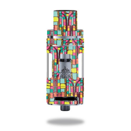 Skin Decal Wrap for Smok TFV8 Tank Color Bridge
