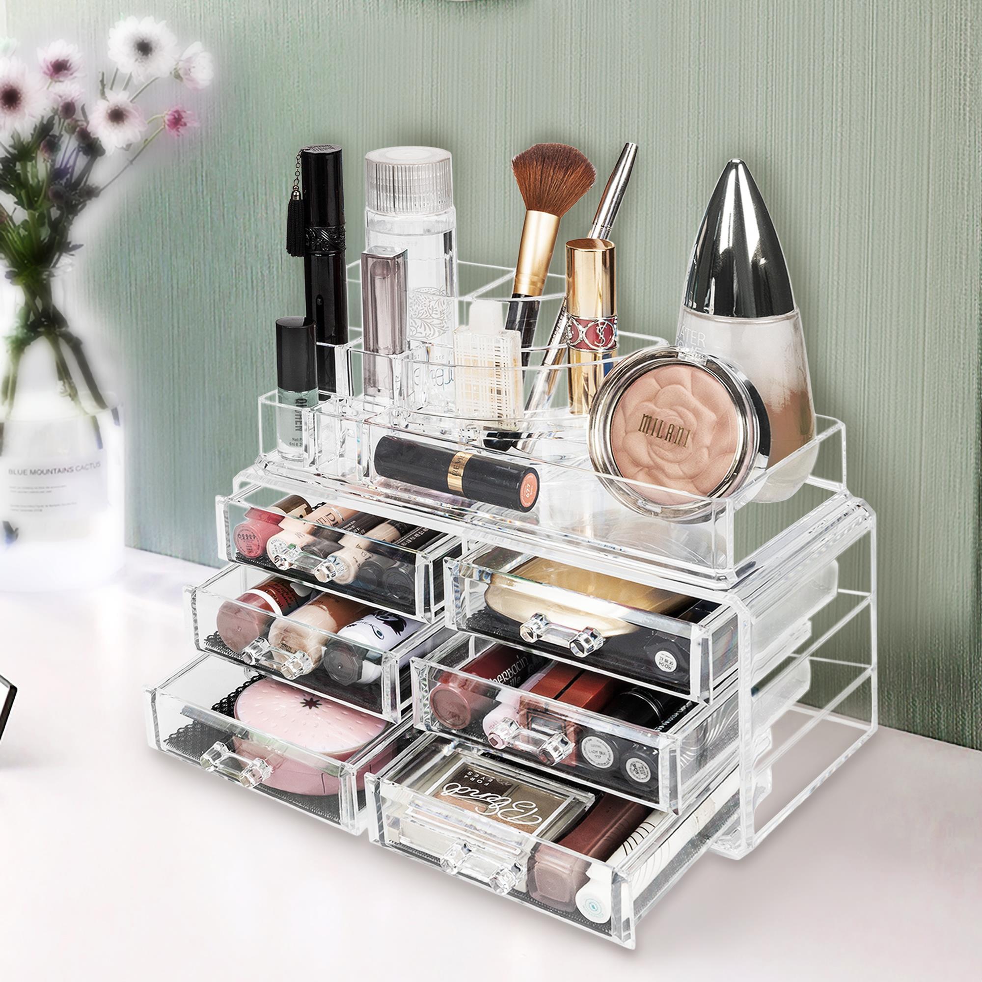 Ktaxon Acrylic Makeup Organizer