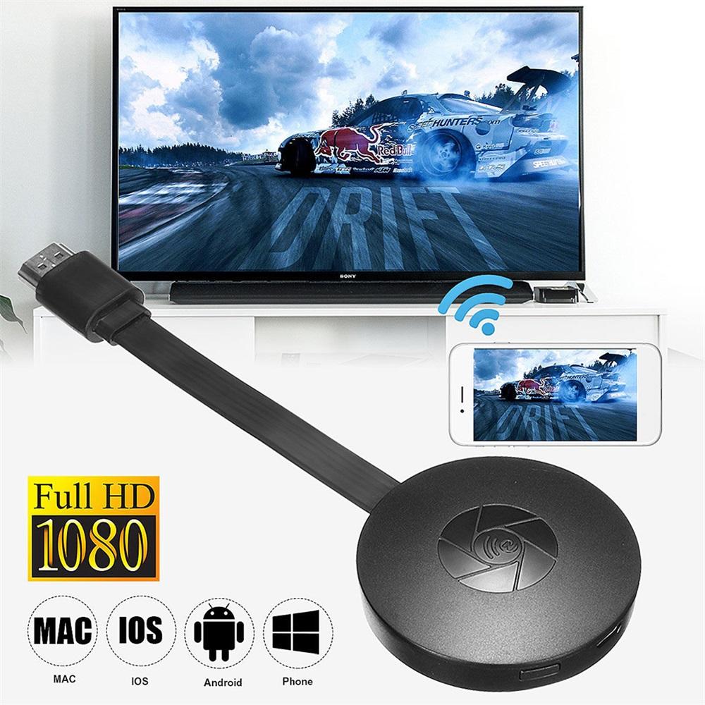 WiFi HD Media 1080p MiraScreen G2 TV Stick Wireless Dongle Miracast Airplay DLNA