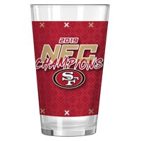 San Francisco 49ers 2019 NFC Champions 16oz. Digital Pint Glass