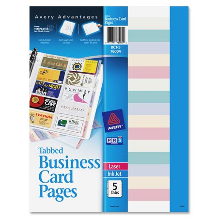 Avery non stick tabbed business card holder pages walmart avery non stick tabbed business card holder pages colourmoves