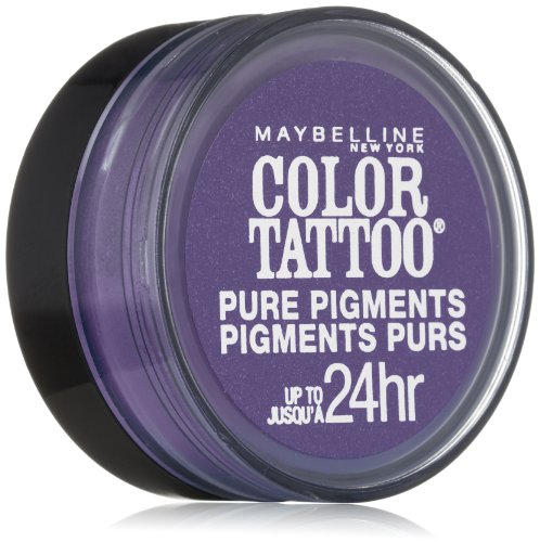 Maybelline New York Eye Studio Color Tattoo Pure Pigments, Potent Purple, 0.05 Ounce - image 1 de 1