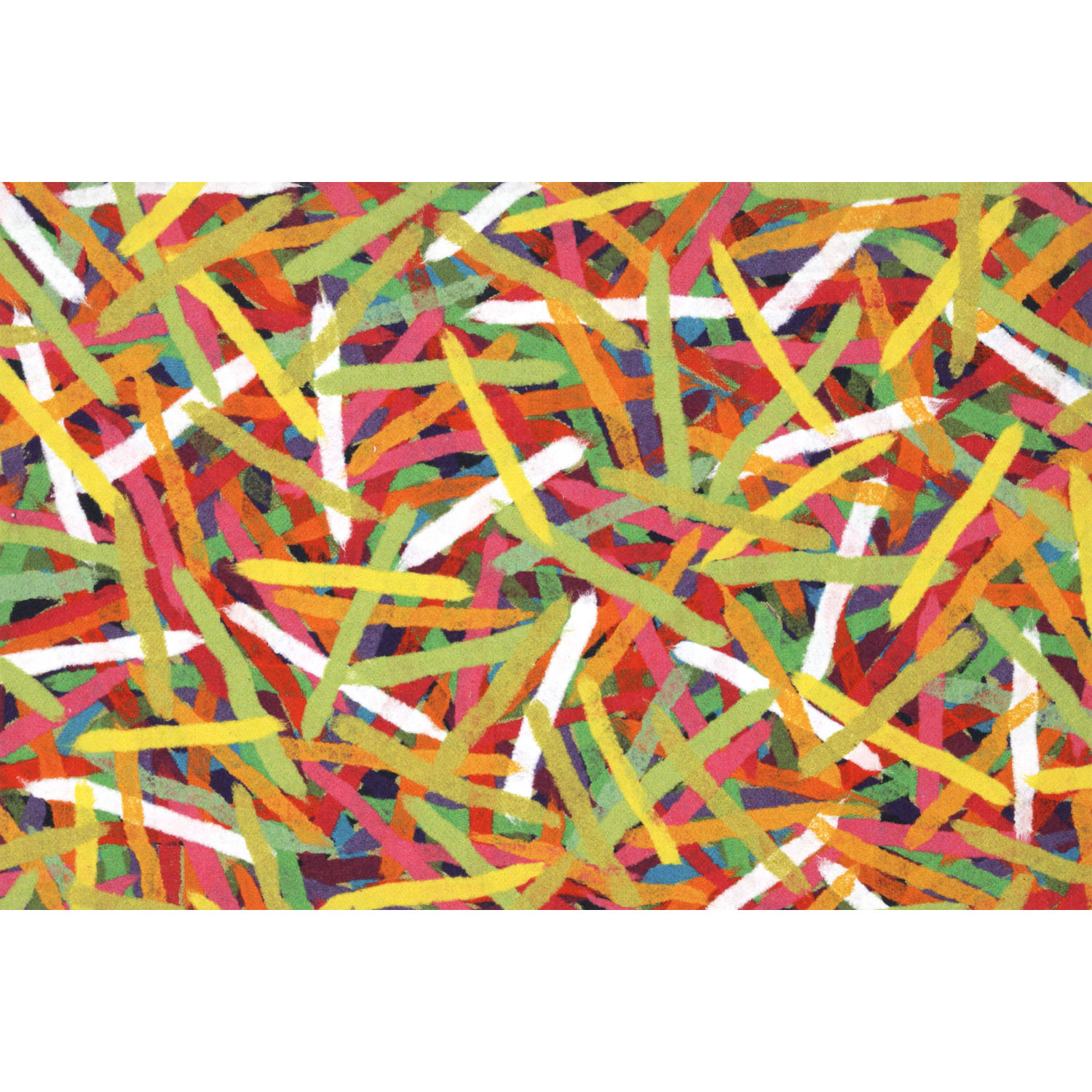 Visions III Pick Up Sticks Jewel Mat-Color:Yellow