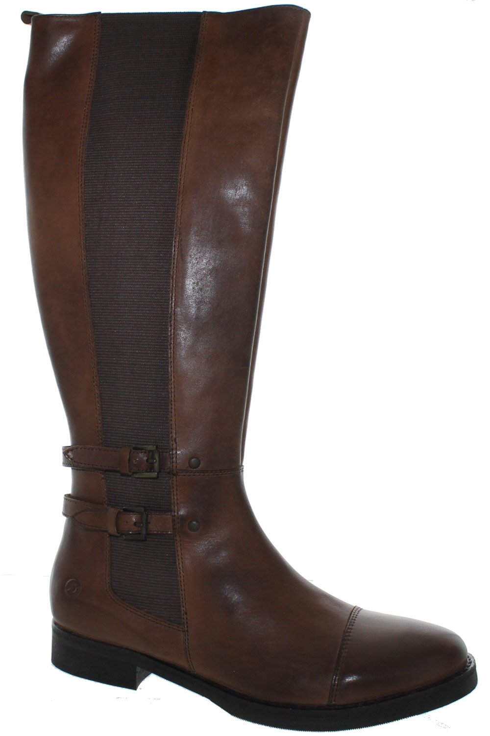 Bronx By Diba True Women's Loop Hole Tall Leather Boots Brown (36.0 EU   6.0M US) by