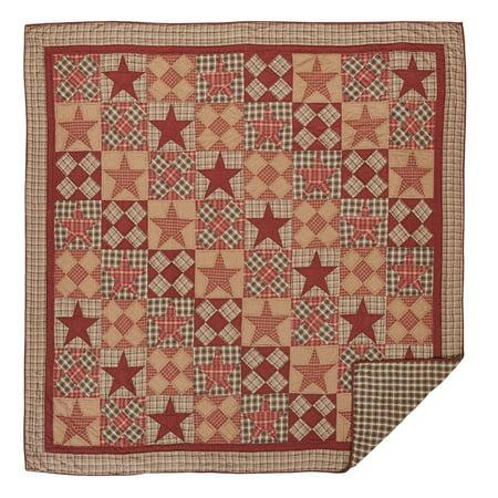 Dawson Star Quilt By Vhc Brands