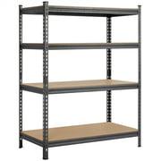 4 Level Metal Garage Shelves Storage Shelf Utility Rack