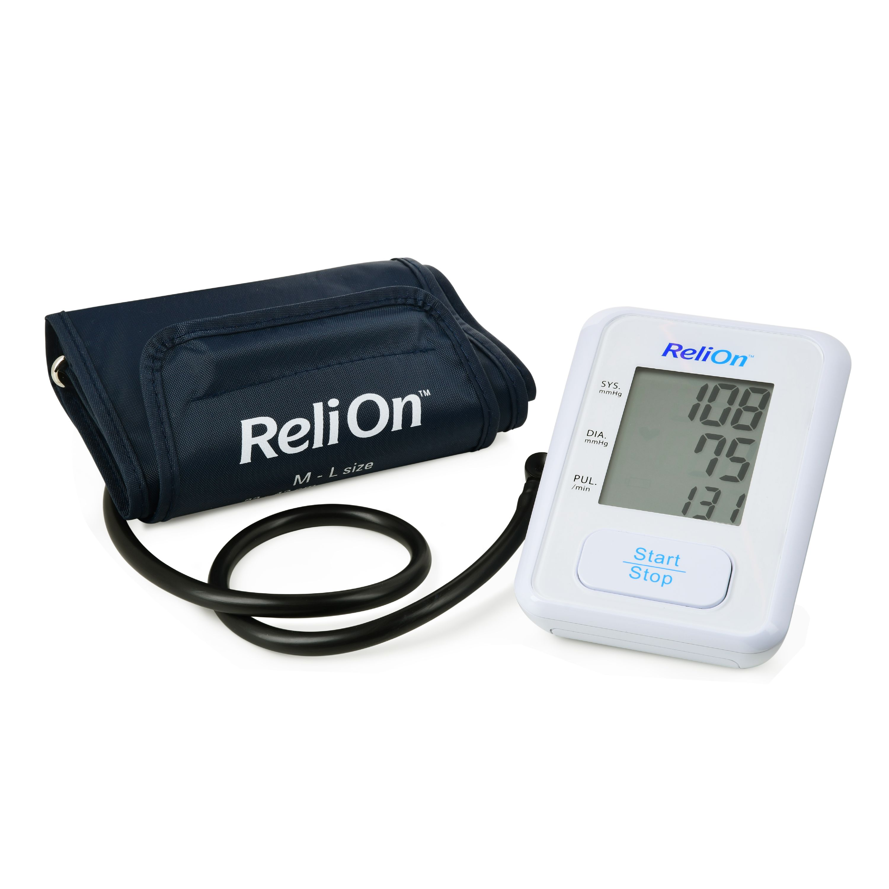 ReliOn BP100 Upper Arm Automatic Blood Pressure Monitor