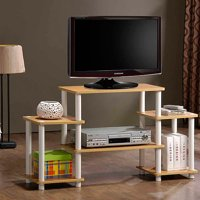 Furinno 11257 Turn-N-Tube No-Tools TV Stand Entertainment Center