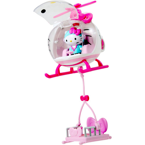 Jada Toys Hello Kitty Emergency Helicopter