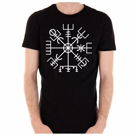 Vegvisir Viking Compass Symbol T-Shirt Alternative Clothing Odin Norse God Mythology