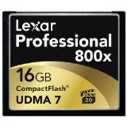 Lexar 16GB Professional 800x CF 2-PACK