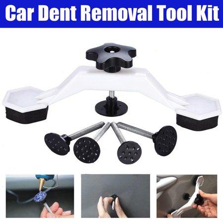 Dent Bridge Glue Puller Kit,Glue Pulling Tabs,Ymiko PDR Car Body Paintless Dent Repair Tools Puller & Glue Pulling