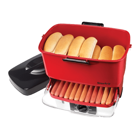 Starfrit 024730-002-0000 Electric Hot Dog Steamer - Hot Dog Wholesale Prices