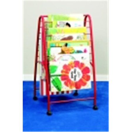 GET School Specialty Light-Weight Mobile Big Book Storage Caddy - 23 W x 23. 25 D x 43 H inch - Metal NOW