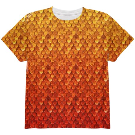 Chris Rock Top Five Halloween (Halloween Red Fire Dragon Rider Armor All Over Youth T)