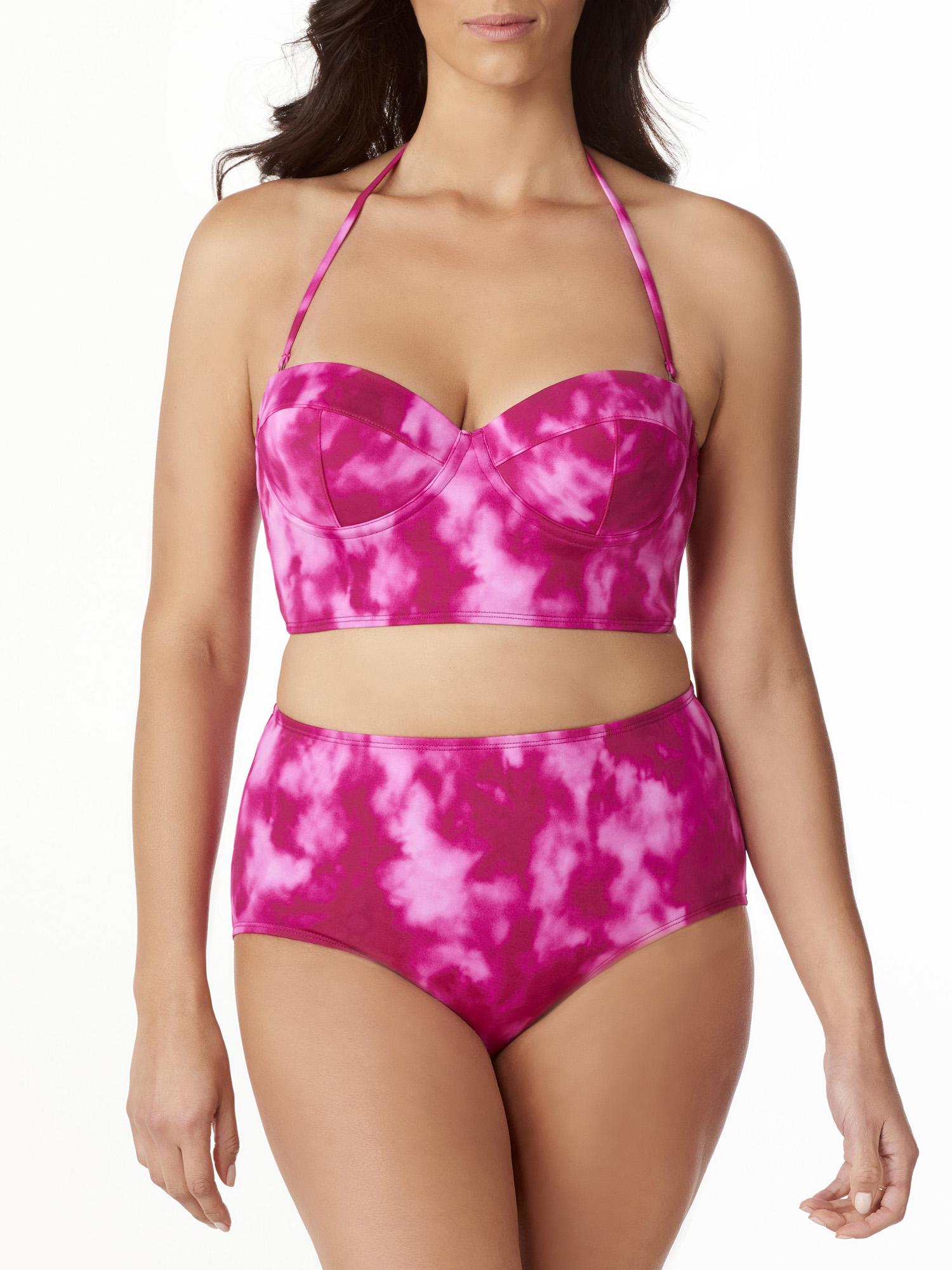 Women's Bikini Top with Underwire Rib Tickler