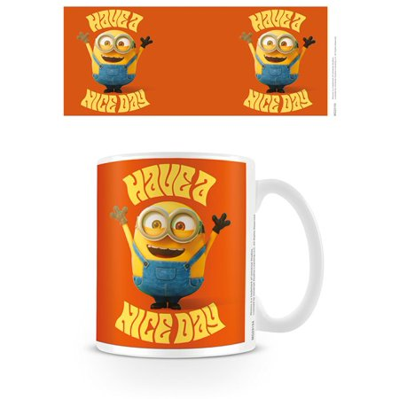 Minions - Ceramic Coffee Mug / Cup (Have A Nice Day) - Minions Merchandise