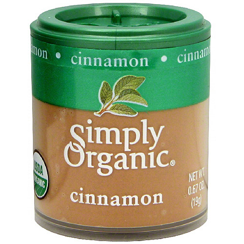 Simply Organic Cinnamon, 0.67 oz (Pack of 6)