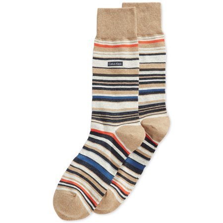 Calvin Klein Mens Striped Midweight Socks Calvin Klein Sport Socks