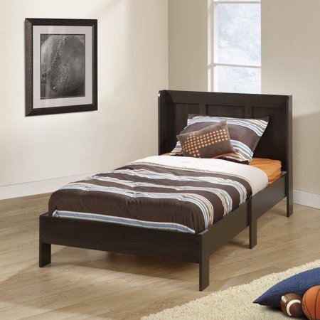 mainstays parklane twin platform bed and headboard multiple finishes