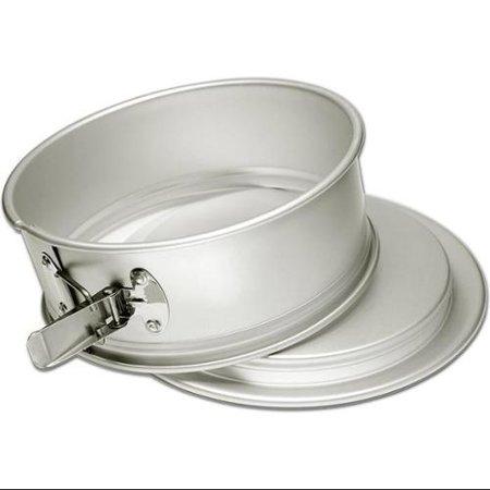 Fat Daddio's Anodized Aluminum 9 Inch x 3 Inch Round Springform Cake Pan Aluminum Springform Cake Pan