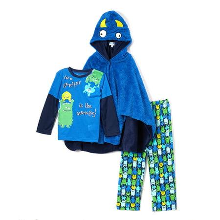 5334fa499d45 Freestyle Revolution - Freestyle Revolution Boy s 3 Piece Pajama ...