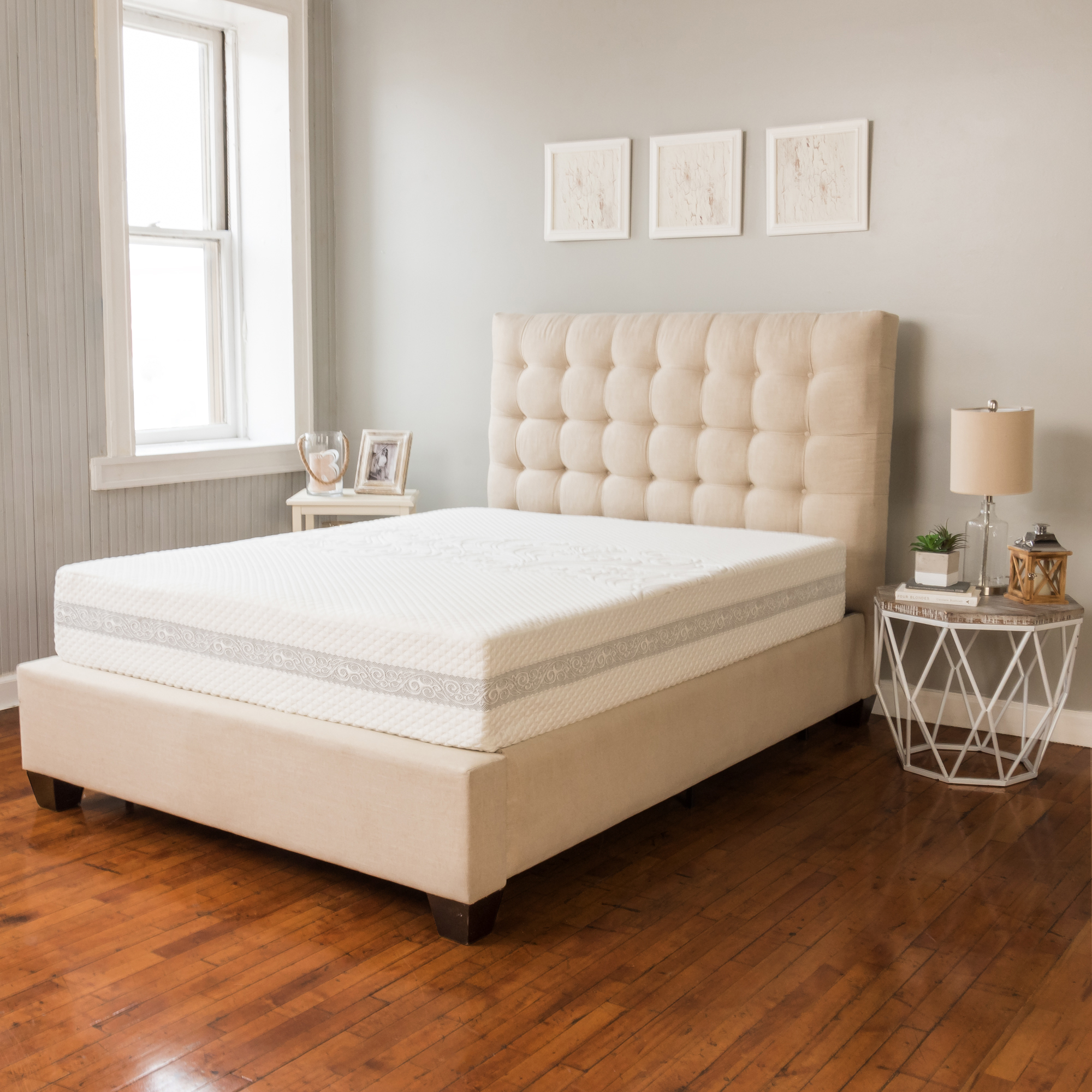 Modern Sleep Engage Gel Memory Foam and Innerspring Hybrid 11-Inch Mattress, Multiple Sizes