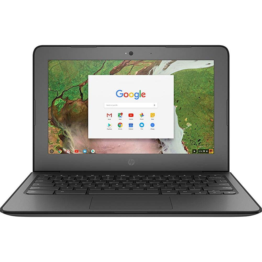 """HP Chromebook 11 G6 EE 11.6"""", Intel Celeron N3350, 4GB RAM, 16GB eMMC, 720p HD Camera, Chrome OS, Silver/Black"""