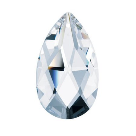 Prism Swarovski Crystal Clear Faceted Almond Chandelier Part Party Decor (Sizes Available)