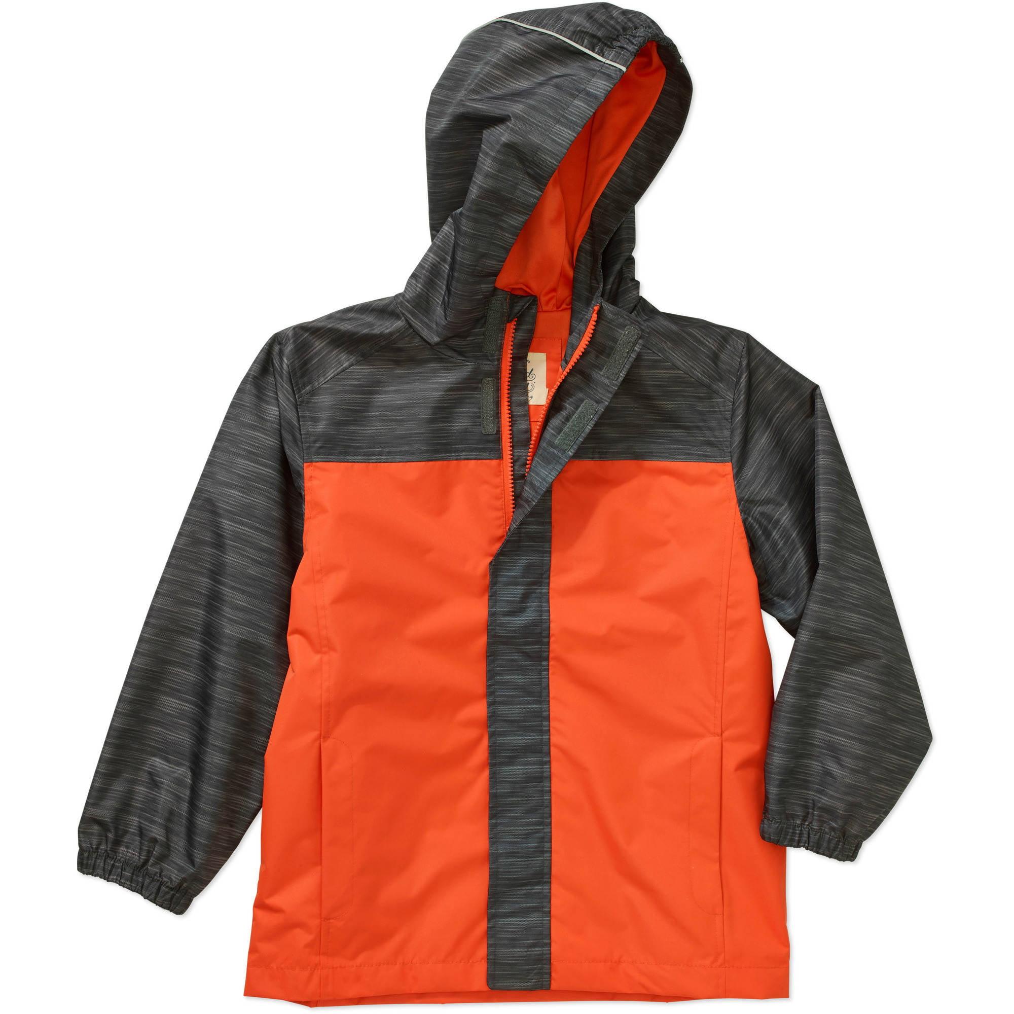 505c196a4c41 Faded Glory - Boys Rain Jacket - Walmart.com