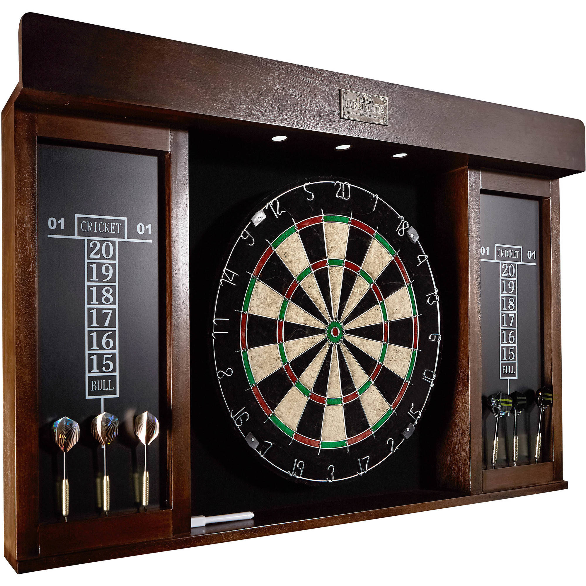 "Barrington 40"" Dartboard Cabinet With Led Light"
