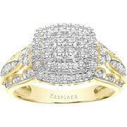 Sentiment 3/8 Carat T.W. Diamond 10kt Yellow Gold Ring